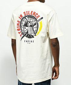 a322f674 Greve de Empyre no t-shirt do creme do silêncio Cream T Shirts, Graphic