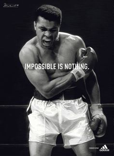 Muhammad Ali was one of the most inspiring athletes in history. Here are 30 of the greatest Muhammad Ali quotes to inspire you to achieve your own goals. Muhammad Ali Boxing, Muhammad Ali Quotes, Foto Sport, Float Like A Butterfly, Sport Quotes, Quotes Quotes, Inspirational Videos, Sports Illustrated, Kickboxing