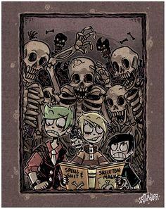 +3SD - Skeletons+ by Z-Doodler