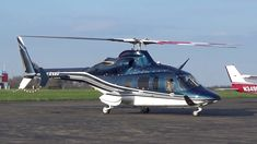 N255MK - Bell 430 Taking Off