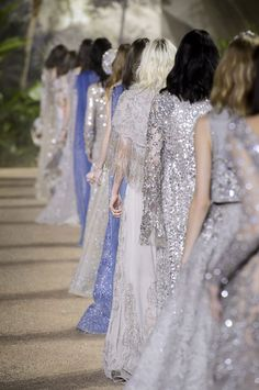 Elie Saab at Couture Spring 2016 - Runway Photos