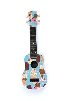 The Ice Cream Ukulele by TheUkuleleWorkshop on Etsy, £60.00