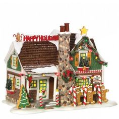 Amazon.com: Department 56 Snow Village The Gingerbread House: Home & Kitchen