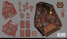 Hearthstone Animated Short: Hearth and Home Concept Art