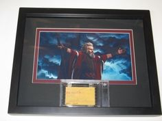 2009 Beckett Graded Razor Cut Signature Edition Charlton Heston the Ten Commandments Signed Autographed Check Custom Made with a Shadow BOX by usa. $399.99. Buying signed autographed cut check authentic through Beckett comes with custom made shadow box