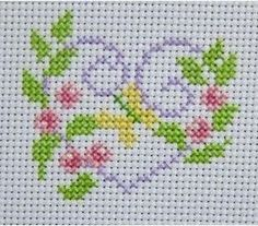 More of my finished cross stitch Small Cross Stitch, Butterfly Cross Stitch, Cross Stitch Heart, Cross Stitch Borders, Cross Stitch Flowers, Cross Stitching, Cross Stitch Embroidery, Cross Stitch Bookmarks, Cross Stitch Cards