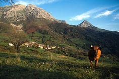 Vistas de Bermiego en el concejo de Quirós #Asturias #paraisonatural