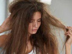Badeponcho nähen fürs Baby / Kind - Anleitung mit Kapuze - Talu.de Dry Damaged Hair, Dry Hair, Frizzy Hair, Hair Frizz, Homemade Hair Serum, Rides Front, Hair Issues, Strong Hair, Grow Hair