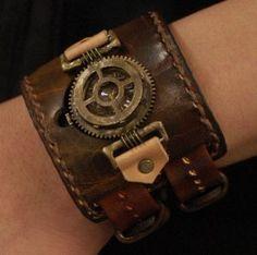 steampunk cuff #Steampunk Jewelry