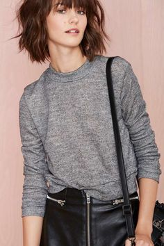 Nasty Gal Low Fi Sweatshirt