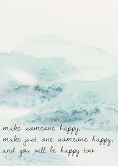 Make Someone Happy Jimmy Durante Watercolor Print by AwakeYourSoul