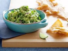 Get Spicy Guacamole Recipe from Cooking Channel