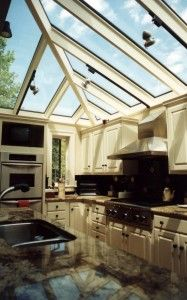 Hip Glass Roof System - Glass House, LLC