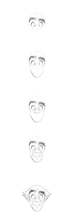 Cartoon Fundamentals: How to Draw a Cartoon Face Correctly - Older (by Tuts+) http://design.tutsplus.com/articles/cartoon-fundamentals-how-to-draw-a-cartoon-face-correctly--vector-15792
