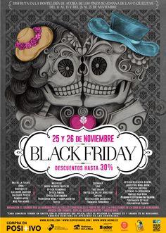 Diseño del cartel para éste Black Friday en Haro! Un gran día y una excelente noche.
