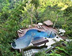 pool at Nadini Jungle Resort Bali