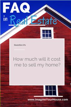 How much will it cost me to sell my home?