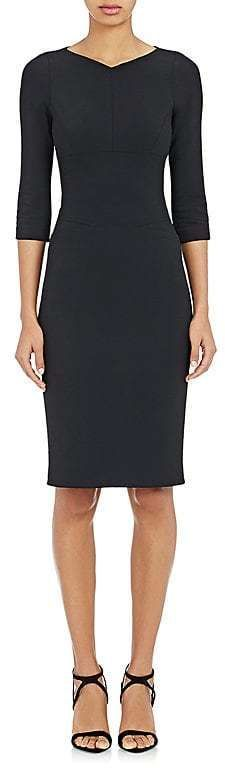 Narciso Rodriguez Women's Three-Quarter-Length Sleeve Sheath Dress