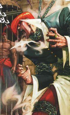 wild iori yagami & genjuro kibagami // svc chaos