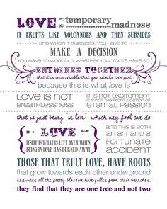 By Louis de Bernieres author of Captain Corelli's Mandolin. - My all time favorite love poem. <3