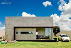 Casa de 64 m² é erguida por R$ 107 mil em três meses - Casa. Parabéns...Ficou…