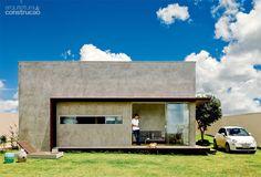 Casa de 64 m² é erguida por R$ 107 mil em três meses - Casa. Parabéns...Ficou linda.