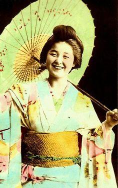 Geisha Tokimatsu (Emiko). Meiji era.