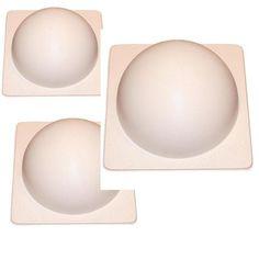 3 Concrete Sphere Molds - History Stones
