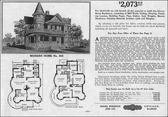 1900 Sears Homes and Plans | Recent Photos The Commons Getty Collection Galleries World Map App ...