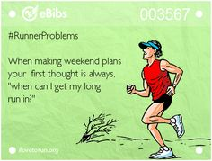 weekends are for long runs