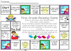 The Centered School Library: Reading Games for your Students