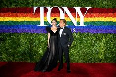Tonight the annual Tony Awards celebrated excellence in Broadway theater. Celebrity Red Carpet, Celebrity Look, Celebrity Dresses, Kelli O'hara, The Cher Show, Christopher Jackson, Samira Wiley, Jesus Photo, Valentino Gowns