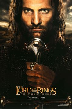"Film: Lord of the Rings: The Return of the King (2003) Year poster printed: 2003 Country: USA Size: 27""x 40"" ""The Journey Ends"" This is a vintage, advance one-sheet movie poster from 2003 for The Lord"