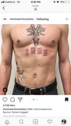 101 Best Small, Simple Tattoos For Men Guide) Abdomen Tattoo, Torso Tattoos, Belly Tattoos, Body Art Tattoos, Hip Tattoos, Celtic Tattoos, Trendy Tattoos, Small Tattoos, Tattoos For Guys