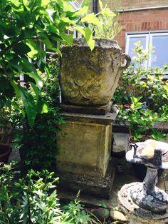 Statuary Garden Planter Urn In Antiques, Architectural Antiques, Garden |  EBay