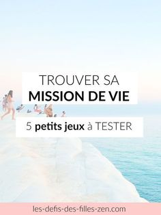 Comment faire pour trouver sa mission de vie? 5 petits jeux simples et efficaces testés et approuvés + votre Workbook gratuit! Happy Mom, Happy Life, Good To Know, Feel Good, Meditation, Miracle Morning, Positive Attitude, Positive Affirmations, Health And Wellness