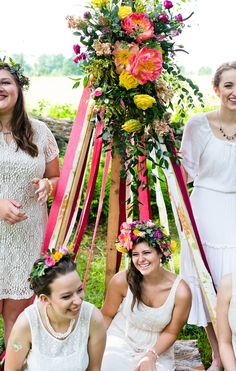 A BOHEMIAN BRIDAL SHOWER BURSTING WITH COLOUR! | Bespoke-Bride ...