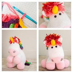 Do you have a little girl that loves unicorn? If so , these cute Crochet Unicorn Free Patterns are perfect for you ! These unicorns are big fad with kids. Crochet Gifts, Cute Crochet, Crochet Baby, Crochet Unicorn Pattern Free, Free Pattern, Pattern Ideas, Crochet Amigurumi, Crochet Toys, Crochet Designs