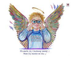 To tylko anioł motywacyjny , na szczęście :)