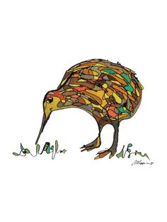 How to draw a kiwi step by step birds animals free online kiwi card gift card greetings cards blank card birthday card bird card albert the kiwi new bookmarktalkfo Choice Image