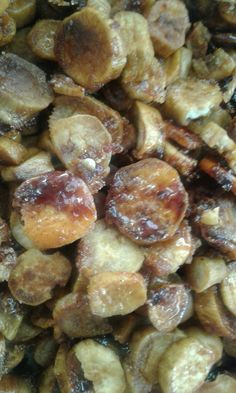Mattang -  마탕  Korean Sweet Potatoes Fried with Sugar
