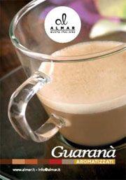 Totem da banco per caffè al Guaranà