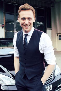 Tom Hiddleston--it's not just that he's cute, but I could listen to him talk all day!