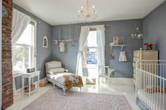 """Finley and Jackson's """"Modern Shabby-Chic"""" Bedrooms & Playrooms Kids Room Tour 