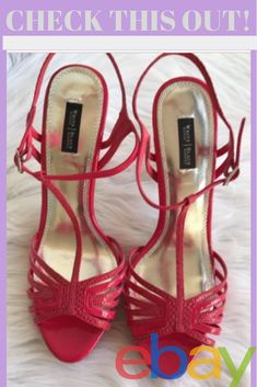 3744a31705388c White House Black Market Women s High Heels Shoes Bright Pink Faux Snake  9.5 M