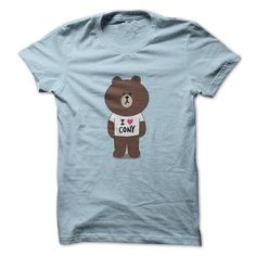 Brown loves Cony T Shirts, Hoodies. Check Price ==► https://www.sunfrog.com/Funny/Brown-loves-Cony-LightBlue-8059488-Guys.html?41382