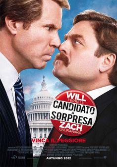 Ladri, truffatori, approfittatori. Alla fine comunque li votate sempre, i politici. Io preferisco il cinema di #Candidatoasorpresa (2012 di #JayRoach) con #WillFerrell e #ZachGalifianakis