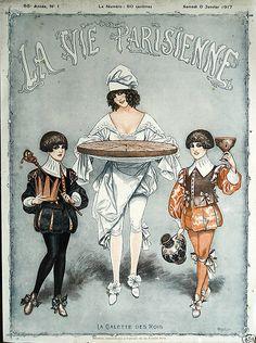 Chéri Hérouard (1881 – 1961). La Vie Parisienne, 6 Janvier 1917. [Pinned 31-vii-2015]
