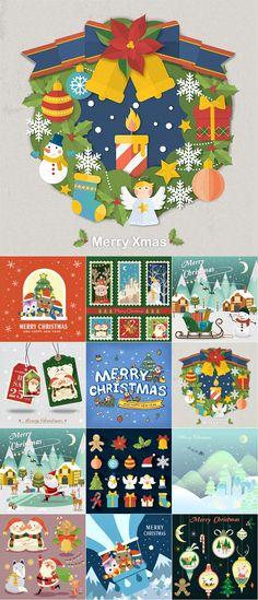 Блог Колибри: 2016 Happy New Year and Merry Christmas vector bac. Merry Christmas Vector, Merry Xmas, Christmas Cards, Christmas Card Background, Vector Background, Happy New Year, Doodles, Kids Rugs, Winter