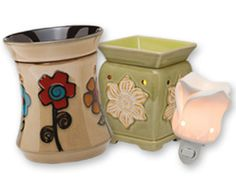 Honor the changing season with a floral-themed warmer as lovely and fresh as the new blooms bursting into life. Give a pop of bright color with the vivid daisies of Ashbury! Or offer the gentle beauty of soft blossoms floating among lily pads with Daphne. For friends and family with limited space, you can help them bring nature into even the smallest corners with the graceful petals of Tea Rose.